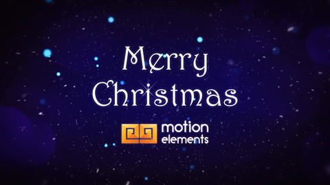 Christmas Titles After Effects Template