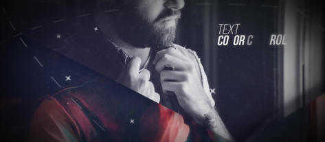 Cinematic Parallex After Effects Template