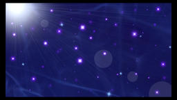 Flicker star particle animation background Animation