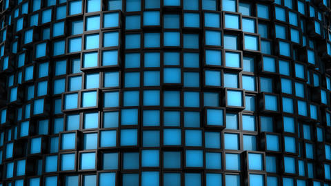 Background From Squares Animation