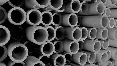 Abstract background with Iron pipes Footage
