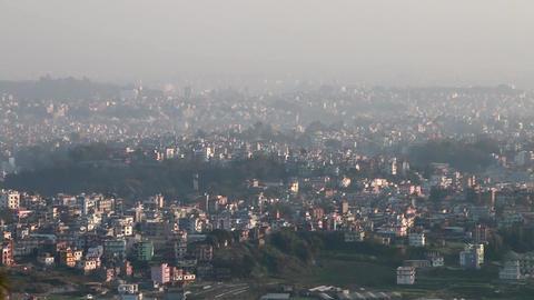 View Of Kathmandu City Filmmaterial