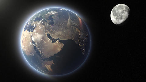 Earth&Moon Animation