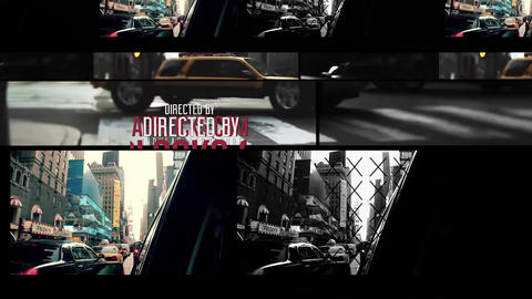 Intro / Credits by AEBlocks After Effects Template