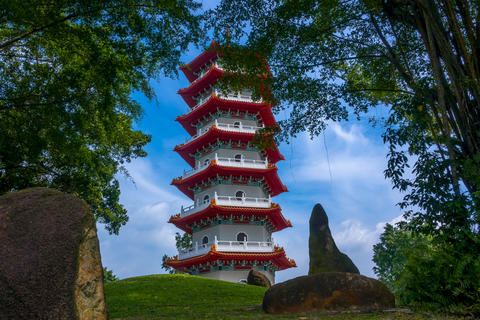 Pagoda in the Park of Singapore フォト