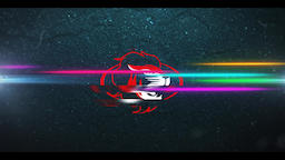 Neon Racing Logo Premiere Pro Template