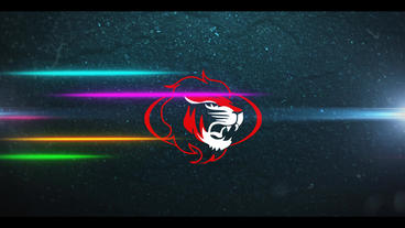 Neon Racing Logo Premiere Pro Template