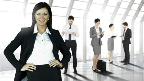 Business people working Animation