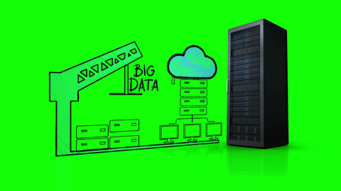 Video of big data network Live Action