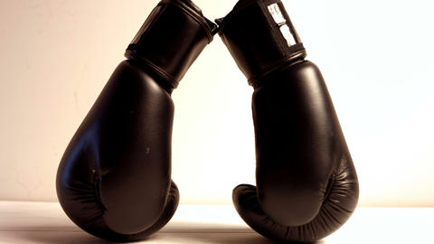 Close up of boxing gloves Live Action