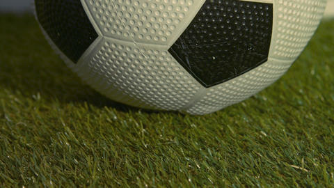 Close up of soccer ball Live Action