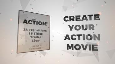And Action! Titles, trailer, transitions, logo Premiere Pro Template