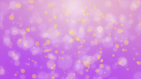 Purple yellow glowing bokeh background 動畫