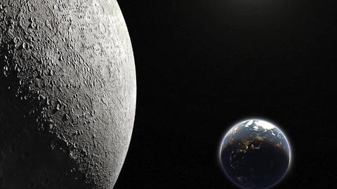 Earth&Moon Animation