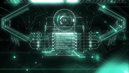 Abstract Background Science Fiction Animation