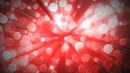 Abstract red halo animation background Animation