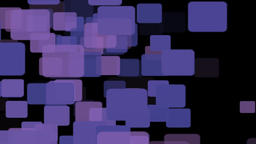 Purple square animation background Animation