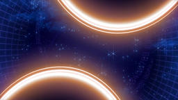 Space Cosmos Abstract Particles Background Animation