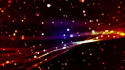Abstract particle halo vj animation background CG動画素材