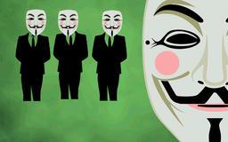 Green screen Vendetta, hacker CG動画素材