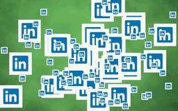 Linkedin icon CG動画素材