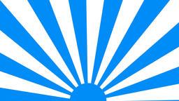 Flat blue Loop CG動画素材