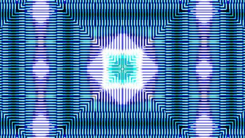Blue Neon 4K 04 Vj Loop Animation