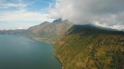 Lake Batur. Bali,Indonesia Footage