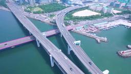 Aerial Gwangandaegyo Bridge