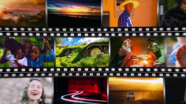 Short Media Frame After Effects Templates