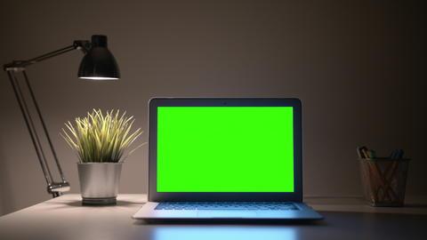 Laptop Green Screen フォト