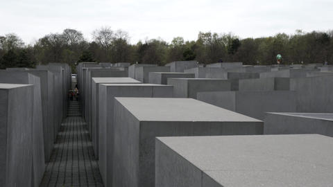 Memorial to the Murdered Jews of Europe in Berlin Live Action