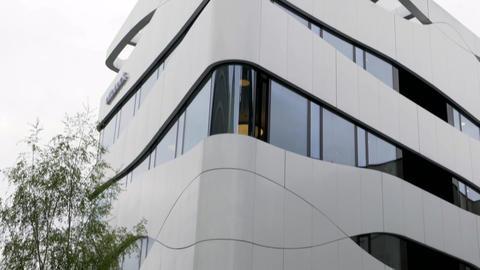 Ottobock Science Center Building exterior in Berlin Live Action
