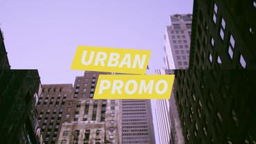 Urban Promo PR模板