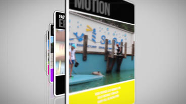 Simple Slideshow Apple-Motion-Projekt