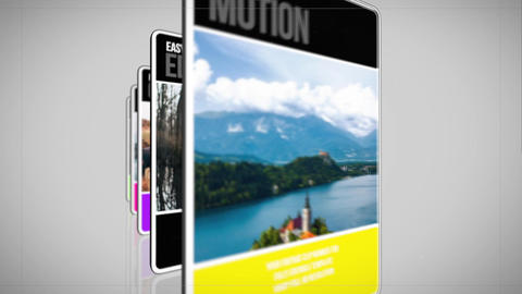 Simple Slideshow Apple Motionテンプレート