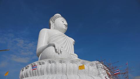Big Buddha monument Footage
