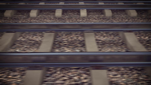 The railways for a train Animation