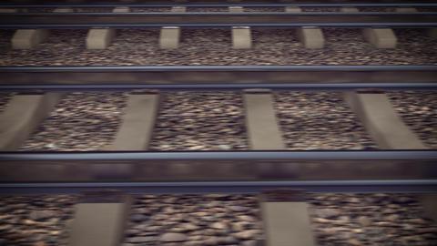 The railways for a train Animation