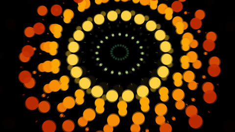 Abstract background with burst circles Filmmaterial
