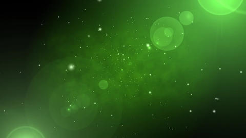 Particle Base-GREEN Animation