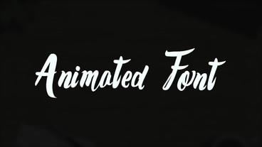 Animated Font 1