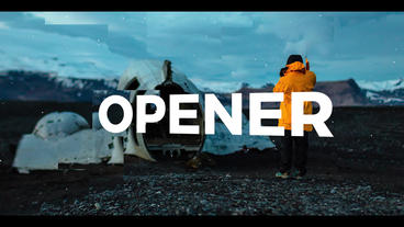 Dynamic Parallax Stomp Opener เทมเพลต Premiere Pro