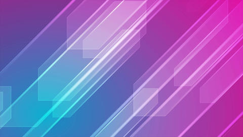 Colorful abstract tech video animation Animation