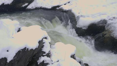 The Ishikari River, Hokkaido, Japan ビデオ