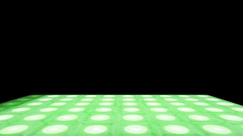Retro Fever Dance Floor PT05 Stock Video Footage