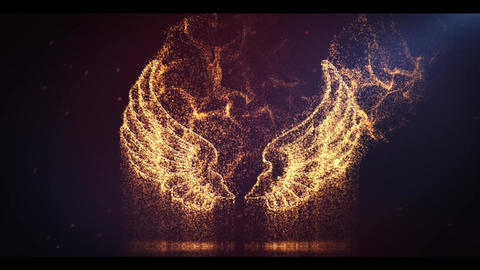 Cinematic Particle Logo After Effects Template