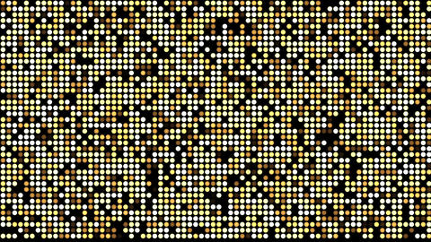 Gold LED Background Animation