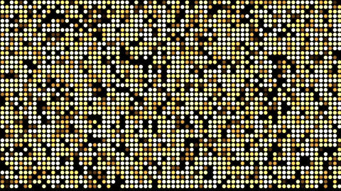 Gold LED Background Stock Video Footage