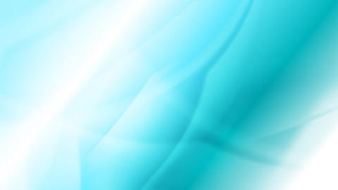 Bright turquoise moving waves video animation Animation